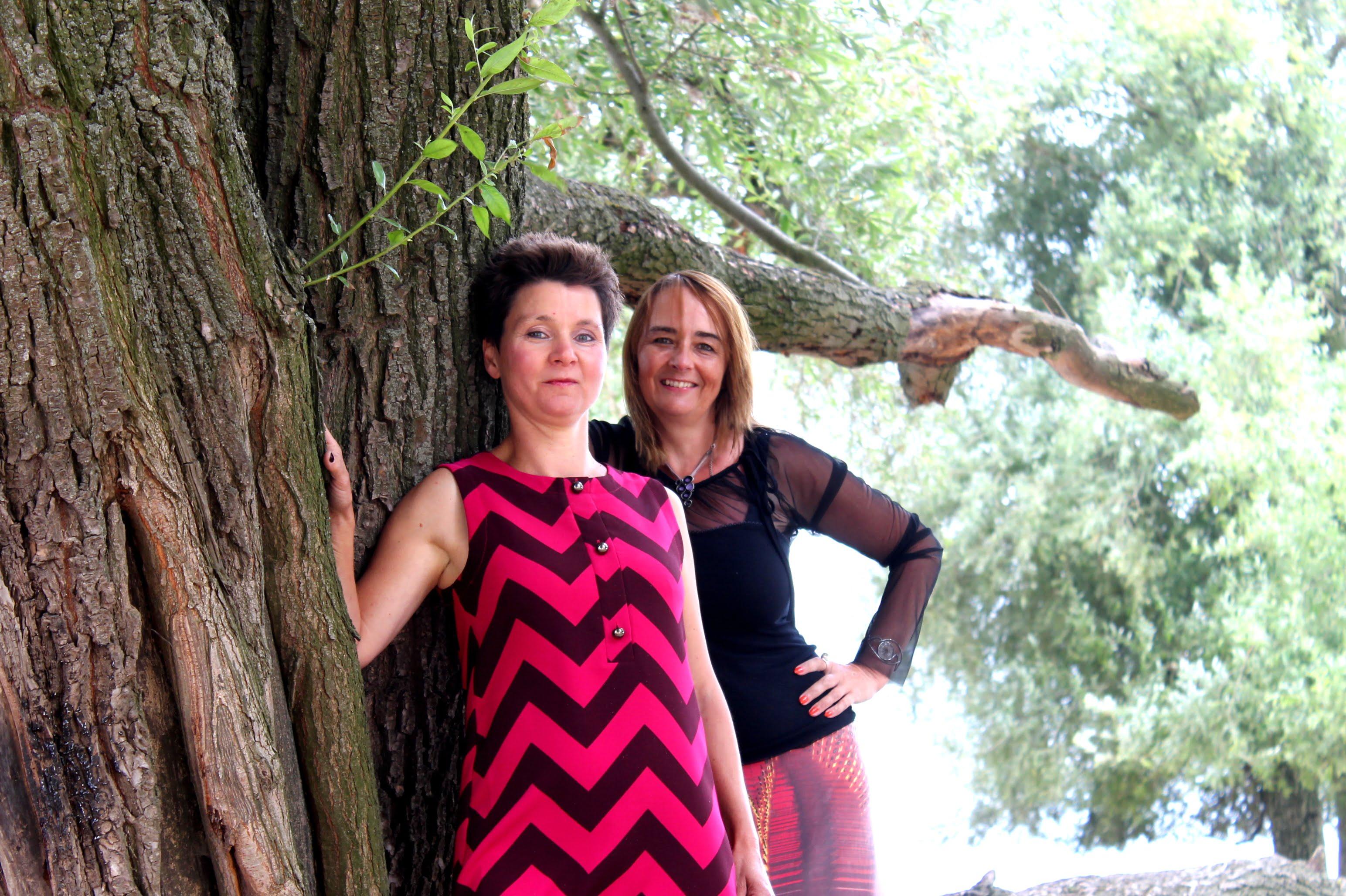 De vrouwen achter Begeer je VrouwZijn: Mandy en Suzanne: